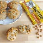 Banana and Butterscotch Muffins