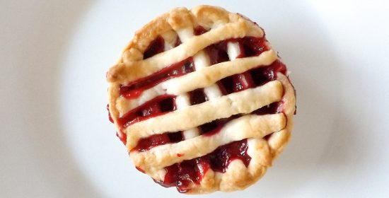 Apple and Raspberry Mini Fruit Pies