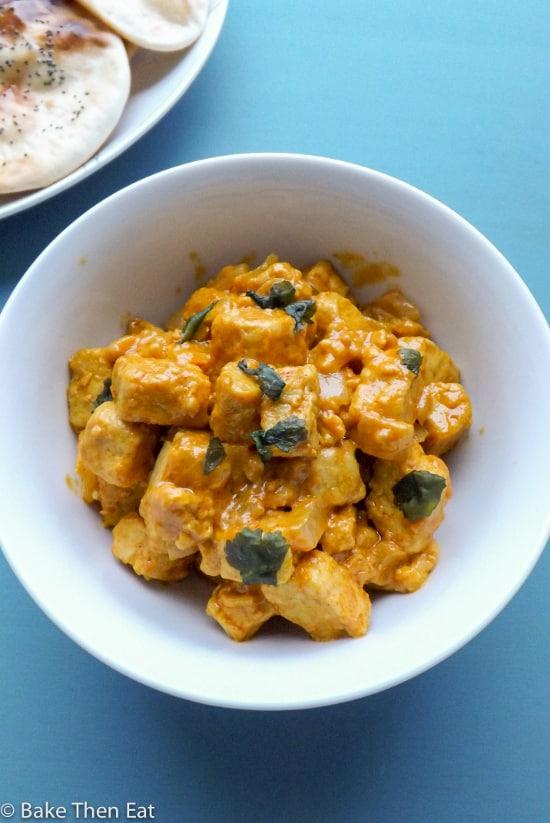 Vegetarian Quorn Goan Curry
