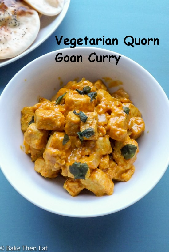 Vegetarian Quorn Goan Curry
