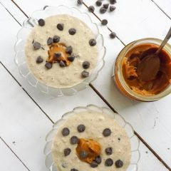 How to Enjoy Salted Caramel and Chocolate for Breakfast / Salted caramel and chocolate overnight oats