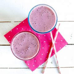 Banana Cherry Smoothie