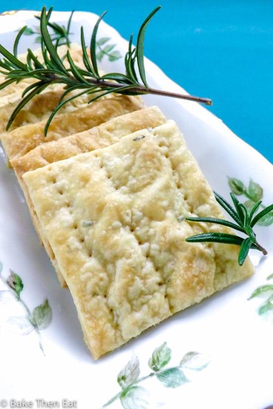 rosemary smoked sea salt cream crackers