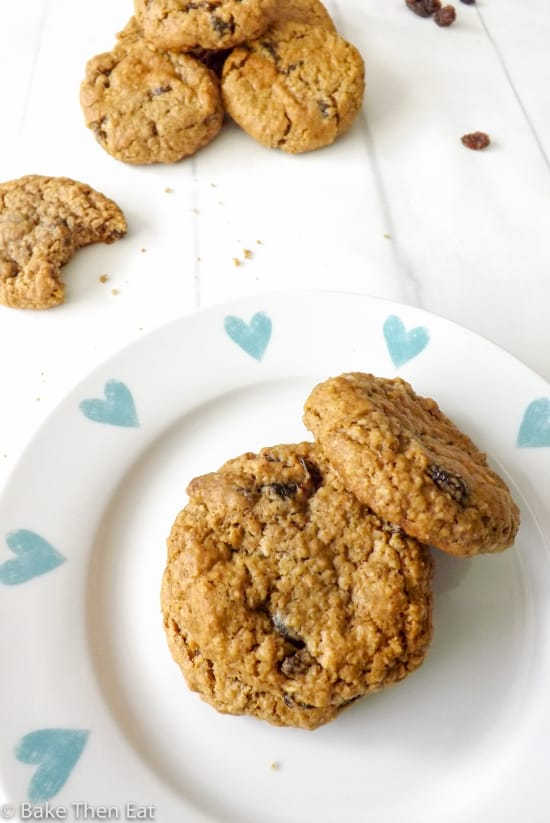 Lovely Soft and Chewy Oatmeal Raisin Cookies
