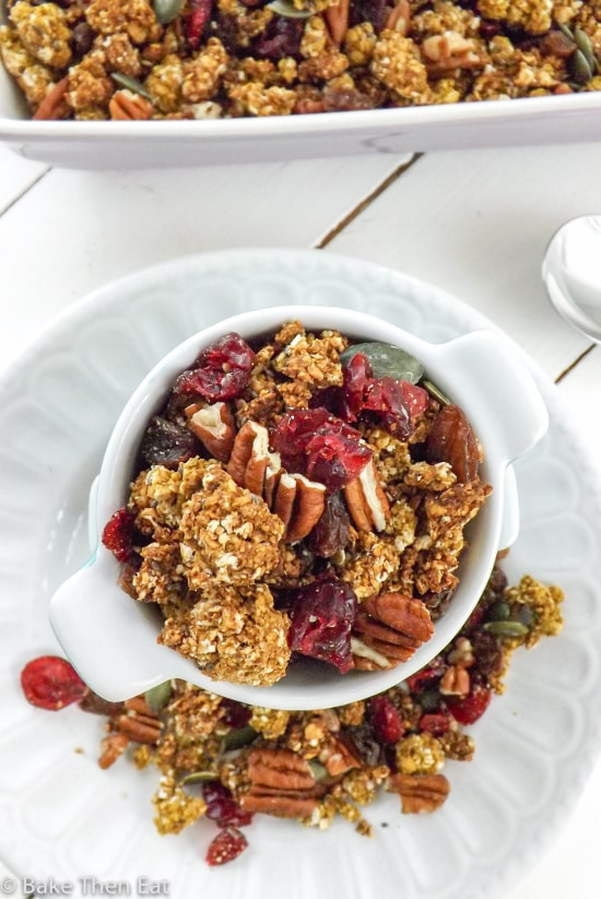 Homemade Pumpkin Granola