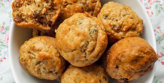 Accidental Vegan Carrot Muffins