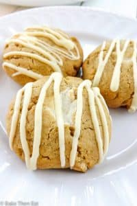 White Chocolate Chunk Peanut Butter Cookies