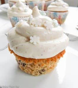 Sweet Mincemeat Christmas Cupcakes