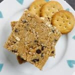No Bake Peanut Butter Ritz Cracker Breakfast Bars