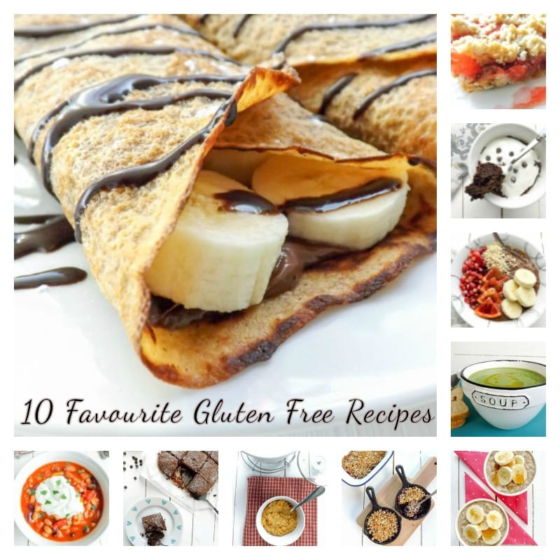 A collection of 10 Gluten Free Recipes | BakeThenEat.com
