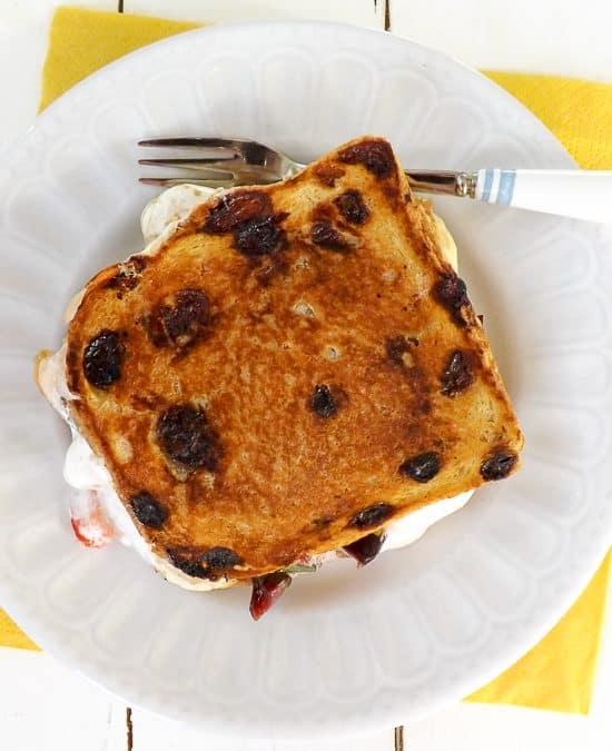 Luxury Peanut Butter Marshmallow Toastie