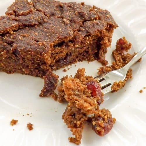 Gluten Free Lightened Up Pumpkin Spice Cake | BakeThenEat.com