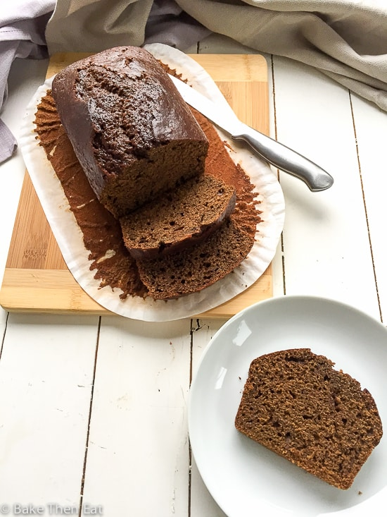 Old Fashioned Orcadian Gingerbread Loaf BakeThenEat.com