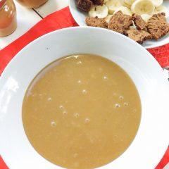 Easy Peanut Butter Butterscotch Dessert Sauce