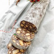 Peanut Butter Chocolate Salami Cookies