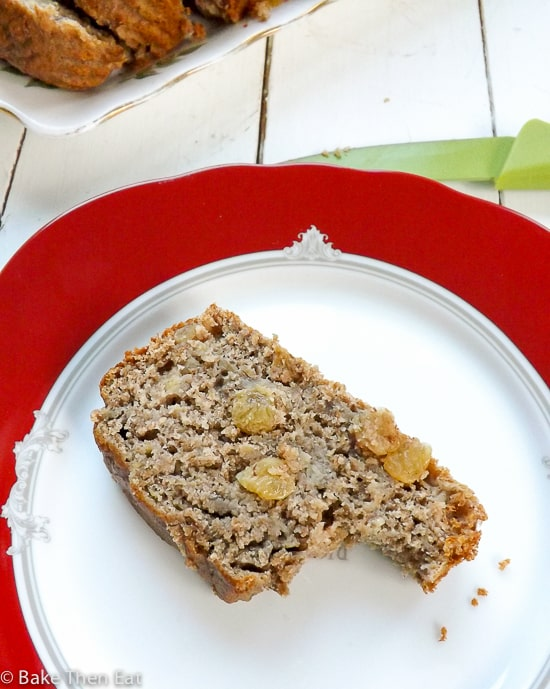 Easy Sugar Free Banana Bread | BakeThenEat.com