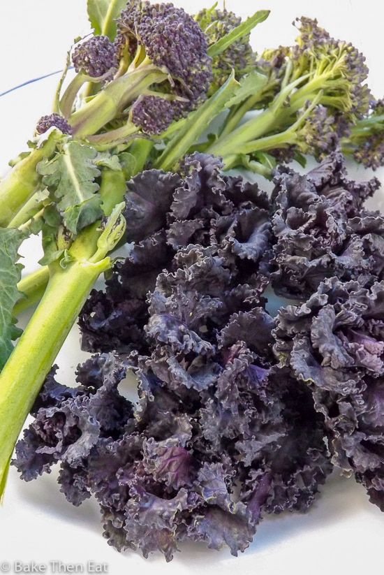 Purple Vegetables - 2017 Food Trend Predictions | BakeThenEat.com