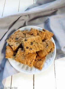 Vegan Refined Sugar Free Peanut Butter Oat Thins   BakeThenEat.com