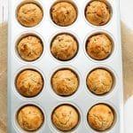 Easy Apple Sultana Breakfast Muffins   BakeThenEat.com
