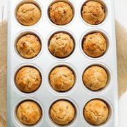 Easy Apple Sultana Breakfast Muffins