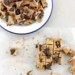 Homemade Peanut Butter Chocolate Swirl Oreo Fudge | BakeThenEat.com