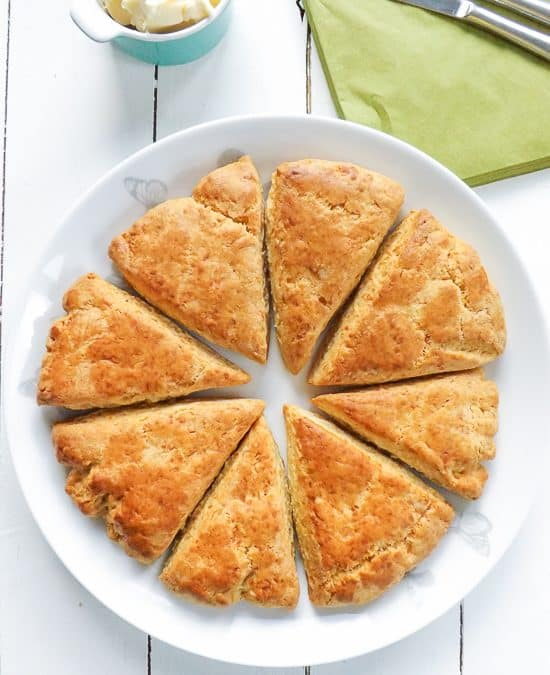 Super Simple Cheese Oregano Scones