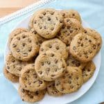 Perfect Tasty Easy Chocolate Chip Cookies | BakeThenEat.com