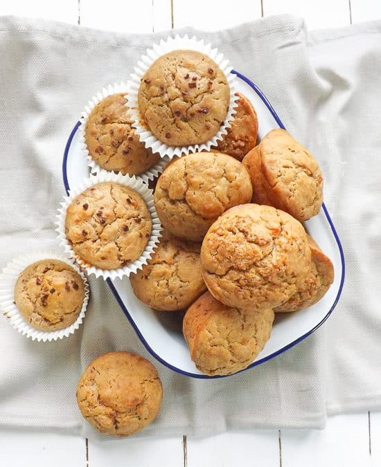 One Bowl Skinny Sugar Free Fruity Muffins