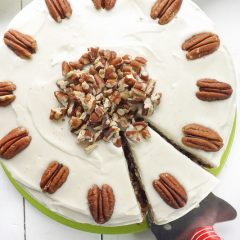 Vanilla Cream Cheese Frosted Hummingbird Cake