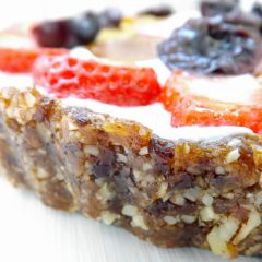 Easy Fruit & Yogurt Healthy Breakfast Tart {GF}
