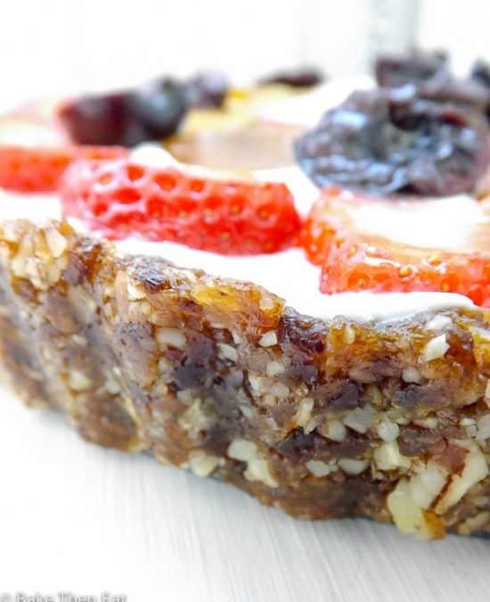 Easy Fruit & Yogurt Healthy Breakfast Tart {GF}