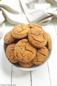 Peanut Butter Snickerdoodle Cookies | BakeThenEat.com