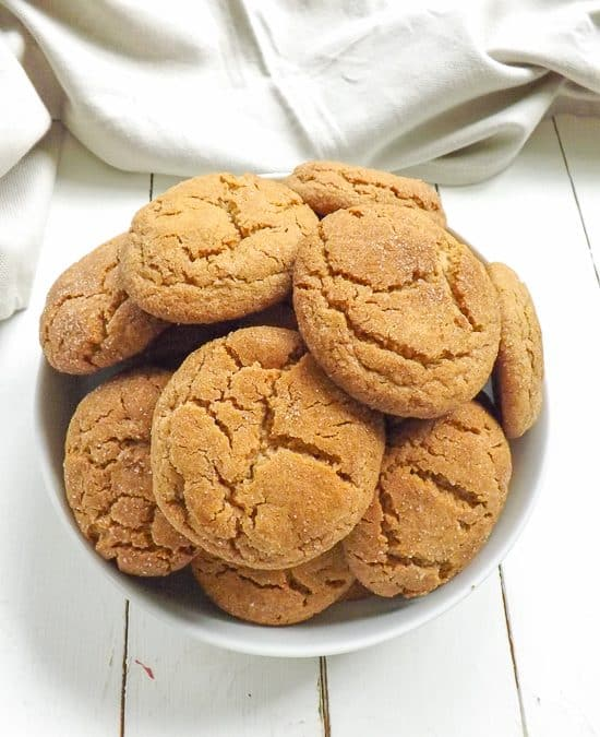 Peanut Butter Snickerdoodle Cookies