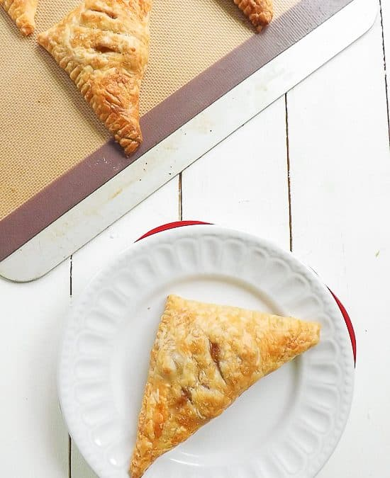 Quick and Simple Nectarine Turnovers