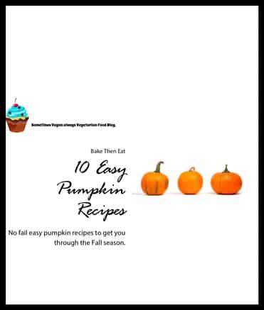 10 Easy Pumpkin Recipes Free ebook - woops something went wrong