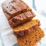 Easy Pumpkin Loaf Cake | An easy to follow recipe with all the flavours of Fall, pumpkin and aromatic sweet spices | BakeThenEat.com