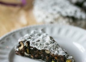 Gluten Free Vegan Italian Chocolate Panforte