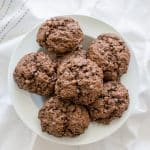 Easy Double Chocolate Rock Cakes are a twist on a British classic | BakeThenEat.com