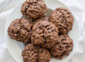 Easy Double Chocolate Rock Cakes