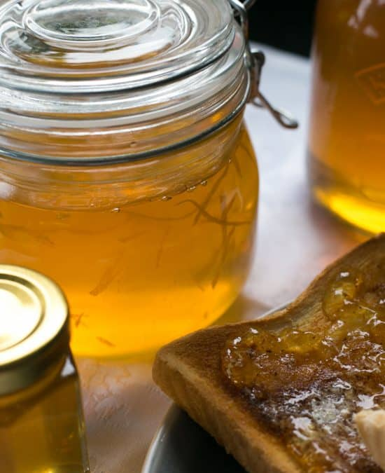 Super Easy Homemade Lemon Marmalade