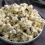 A big bowl of Homemade Cookies n Cream Popcorn | BakeThenEat.com