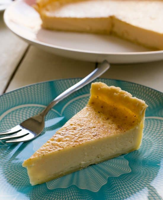 Super Simple Old Fashioned Egg Custard Tart