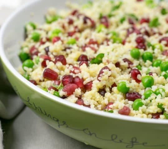 Pea and Mint Bulgur Wheat Salad