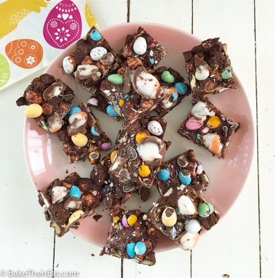 Easy Easter Themed Rocky Road