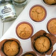 Candied Jalapeño Honey Muffins