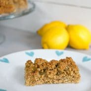 Zesty Lemon Flapjacks